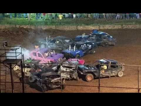 2016 Salem, Indiana Stock Demo Derby Feature