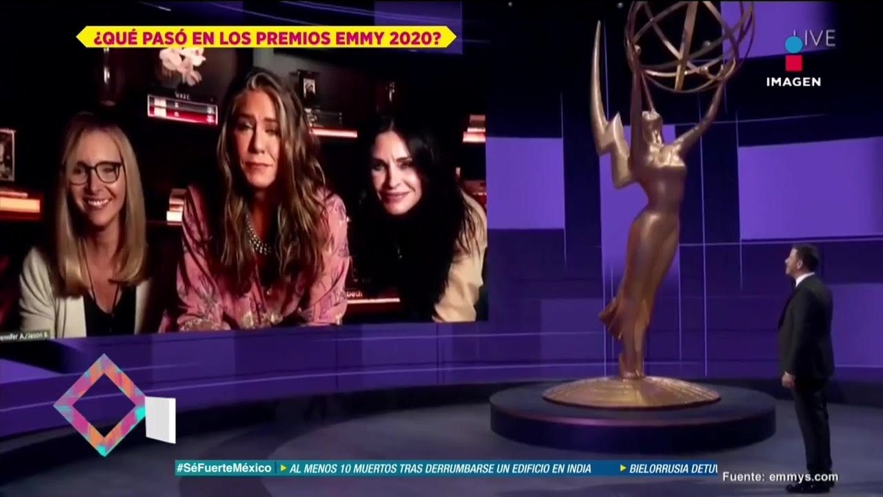 ¡Así se vivieron los premios Emmys 2020 de manera virtual!   De Primera Mano