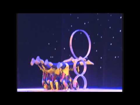 National Chinese Acrobats - hoop jumping