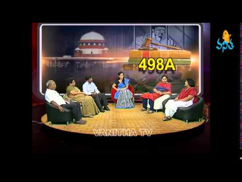 Vanitha Talk Show - Discussion about Womens Law Section 498A
