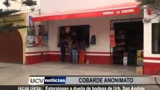 Serenazgo Victor Larco  EXTORSIONAN BODEGA 05 SETI UCV SATELITAL