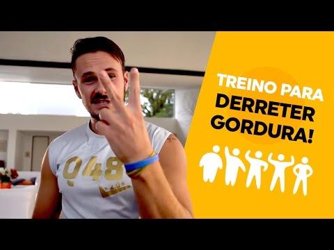 Treino de 4 minutos para Derreter Gordura - Q48 | Vinícius Possebon