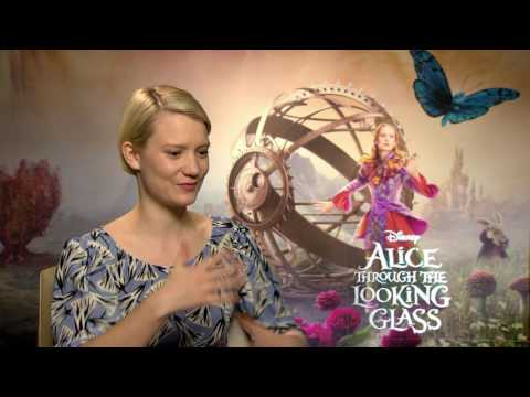 "Alice Through the Looking Glass: Mia Wasikowska ""Alice Kingsleigh"" Official Movie Interview"