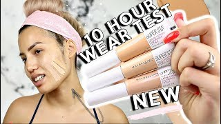 MORE NEW NEW?! | MAYBELLINE SUPERSTAY FULL COVERAGE UNDER EYE CONCEALER | WEAR TEST REVIEW