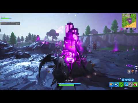 Destroy Cube Fragments Fortnitemares Challenge Part 4