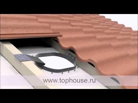 Инструкция по монтажу вентиляционных выходов Vilpe