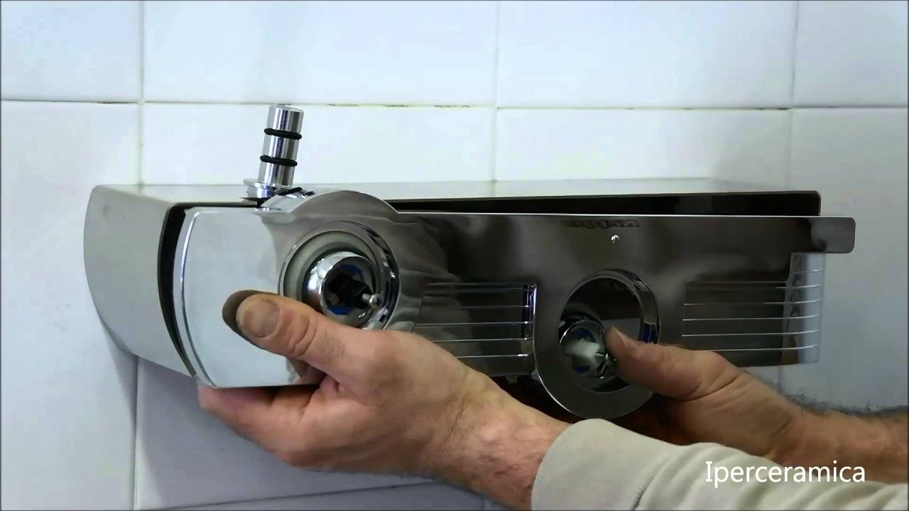 Vasche Da Bagno Angolari Iperceramica : Come montare la colonna doccia jolie di iperceramica youtube
