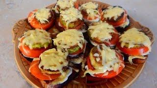 Вкусные и очень простые бутерброды с кабачками.