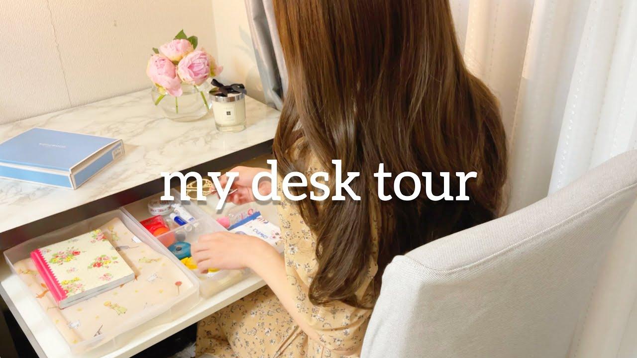 [在宅勤務]デスク周りを整えてお気に入りの空間で楽しむ一人暮らし会社員の休日VLOG DeskTour