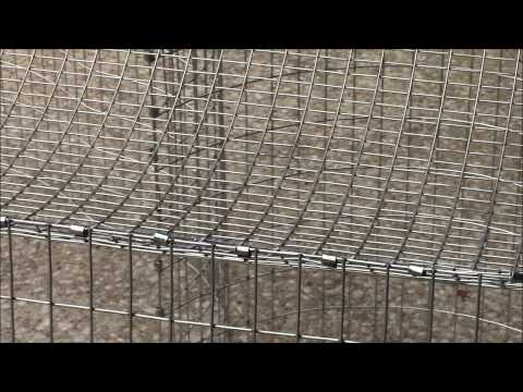 How to Build an All Wire Rabbit Cage