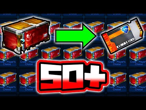 OPENING 50+ OF THE NEW PCC CRATES!! ( Crate Update in Rocket League ) thumbnail