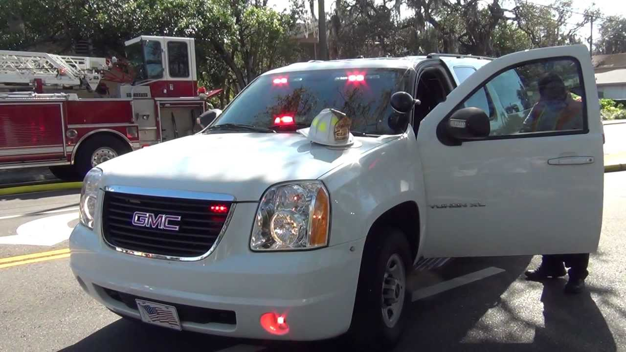 CLEARWATER FIRE RESCUE'S UNMARKED FIRE CHIEFS SUV NO ...