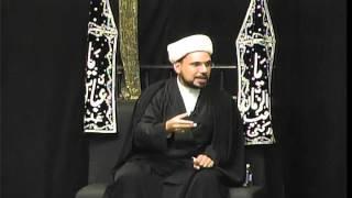 Majlis-e-Aza English 8th Muharram 1437 At Idara-e-Jaferia MD USA 10-22-2015 Sheikh Hilli