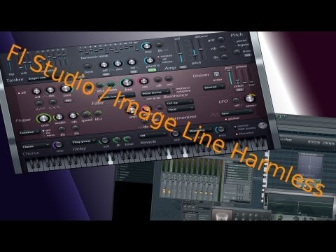 Video 25   FL STUDIO / FRUITY LOOPS VON A - Z(Harmless VST .i Plugin) [TUTORIAL DEUTSCH]