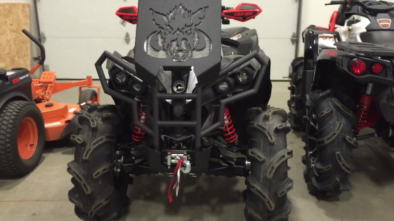 2017 Can Am Renegade XMR 1000r - YouTube
