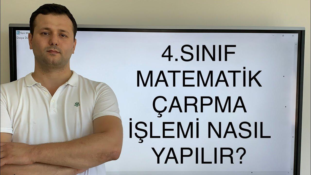 4. Sınıf Matematik Çarpma işlemi