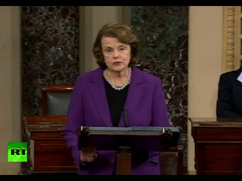 Feinstein: CIA torture techniques far more brutal than approved (FULL SPEECH)