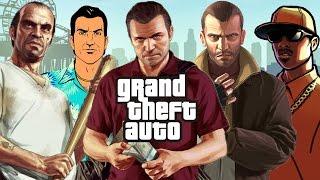 History of Grand Theft Auto (1997-2014)