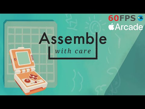 Assemble With Care: Chapter 7 Playing Up , Apple Arcade Walkthrough |
