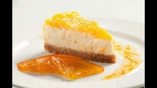Orange Cheesecake | EASY TO LEARN | QUICK RECIPES