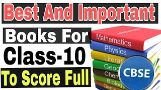 Best Books For Class 10 CBSE in 2018-2019|To score full marks in board exams|