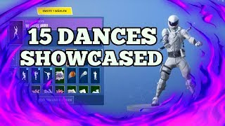 *NEW* OVERTAKER SKIN showcased with 15+ Dances! | Fortnite Battle Royale