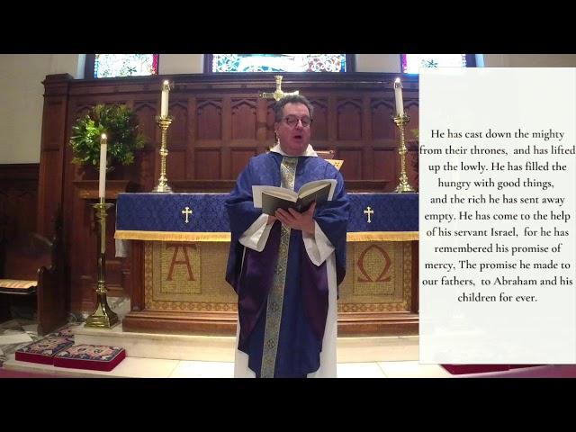 The Third Sunday of Advent 12.13.20
