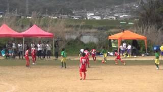 2016年4月9日 和歌山 つつじカップ(U12) 名張FCテコス 対 三田SSC