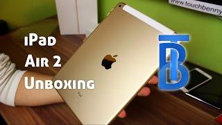Unboxing & Erster Eindruck: Apple iPad Air 2 Gold 64GB LTE [German/Deutsch]