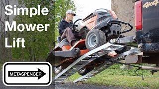 Simple Mower Lift