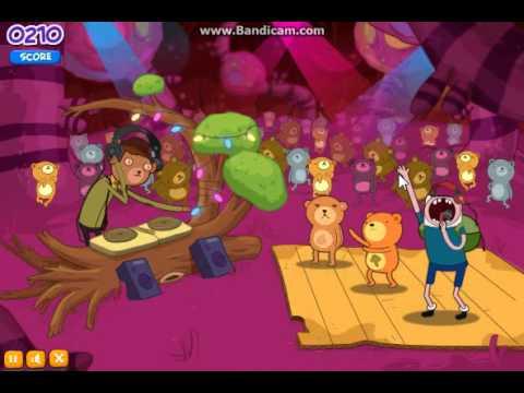 Adventure time Game Rhythm Heroes part 1
