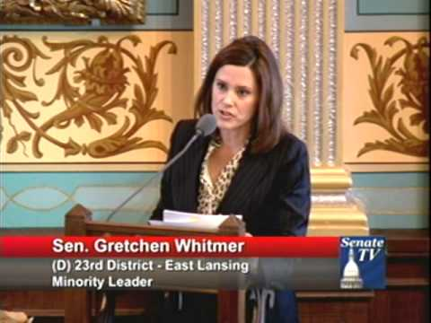 whitmer women Women make up more than half of the population senator gretchen whitmer is the top ranking democrat in michigan's state government.