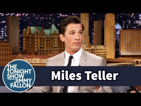 Miles Teller Is a Self-Taught Drummer
