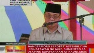 BT: Bangsamoro leader