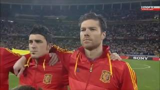 Anthem of Spain v Germany FIFA World Cup 2010