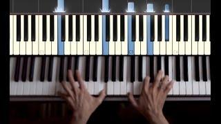 """Как сыграть """"Yesterday"""" на пианино/фортепиано. Видеоурок."""