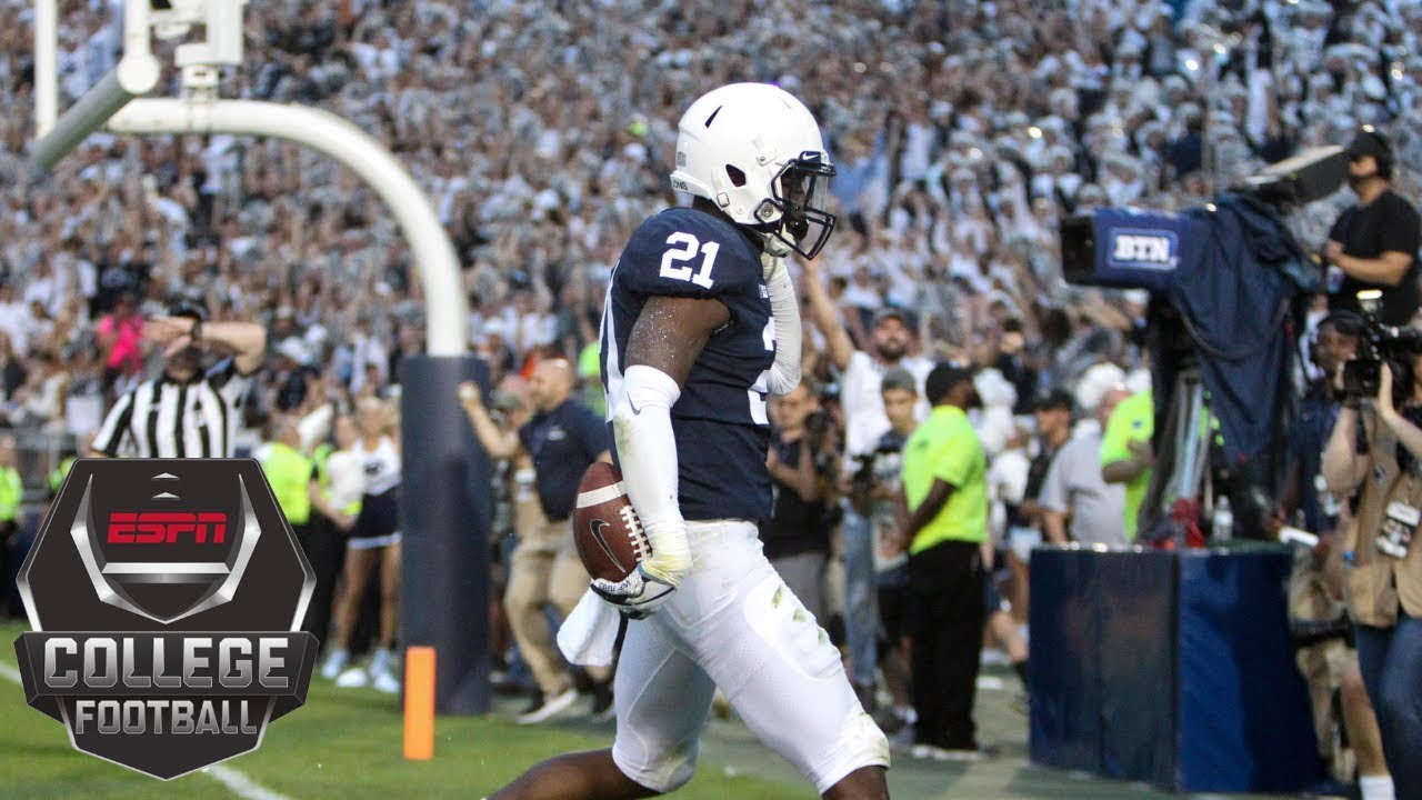 Penn State Football College Football Highlights No 10 Penn State Survives Against Appalachian State In Overtime Espn