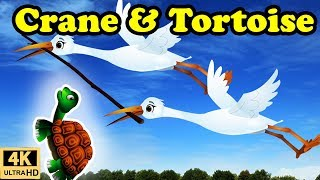 Crane and Tortoise Story in English | Moral stories for Kids | Bedtime Stories for Children