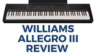 Вільямс Алегро 3 Огляд Цифрового Піаніно (Перший Погляд) Звуки -Особливості - Ручна