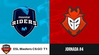 Movistar Riders vs. G2 Vodafone [Mirage] ESL Masters CS:GO Temporada 1 - Jornada #4