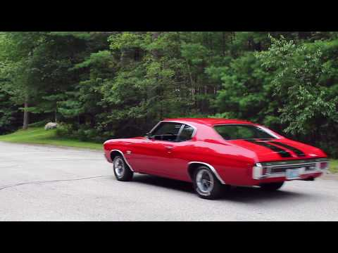 1970 Chevelle SS 396 With Flowmaster Super 10 And Hedman Headers