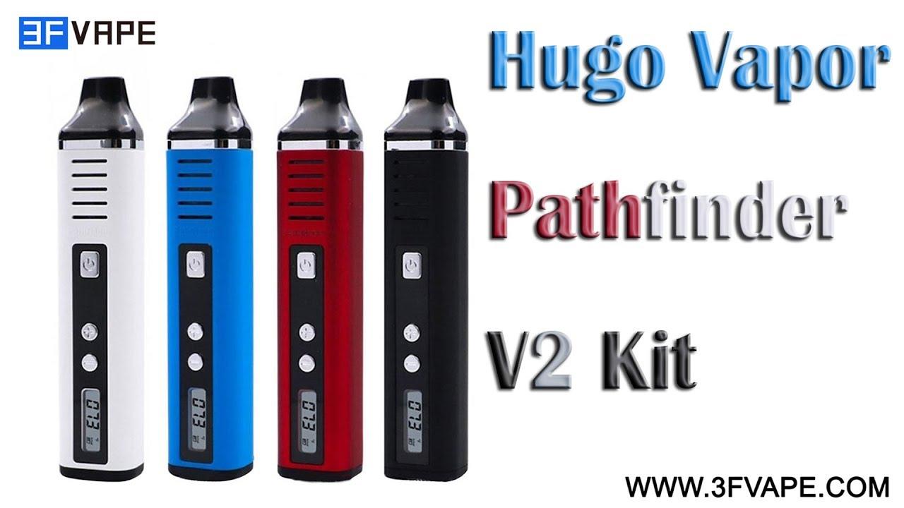 Buy Hugo Vapor Pathfinder V2 White 0 7ohm 2200mAh TC Dry