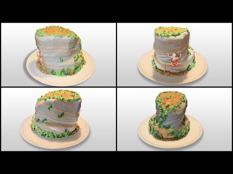 how to make rocks from fondant