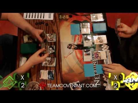 Plugged-In Tour - Netrunner LCG - Match 1