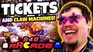 Creepiest Claw Machine Win Ever?! Winning Prizes and Arcade Tickets at the BnB Arcade!
