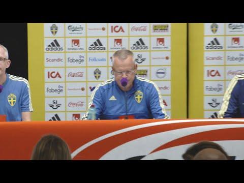 Se hela presskonferensen med Janne Andersson och Pontus Jansson - TV4 Sport