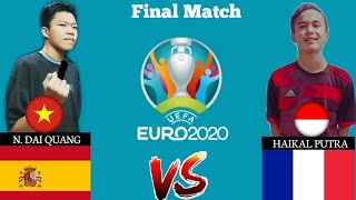 UEFA EURO PES Mobile Tournament  Final Match Highlights ।।  eFootball PES Mobile Tournament