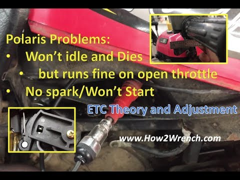 Polaris Looses Spark At Idle Or Won T Idle And Dies THE FIX