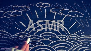 [ASMR] Chalk on Blackboard #1 - NO TALKING