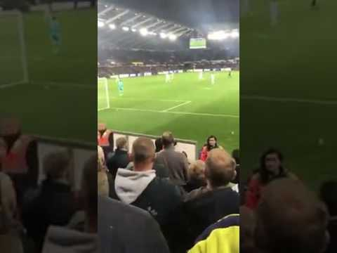 A FAN VIEW OF SON GOAL VS SWANSEA - 3-1